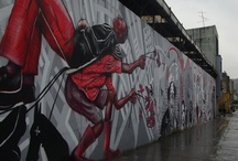 Grafiti Civico / Trabajos de Grafiti que adornan nuestra querida Bogotá y le dan sentido a algunos espacios por los cuales transitan los Bogotanos.