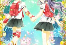 mejores amigas anime