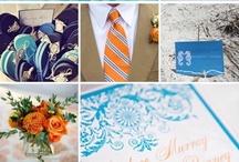 Fem Ideas for your wedding day / Op jouw #bruiloft moet alles kloppen. Op dit bord geven we vast wat ideeën ter inspiratie. #Kleuren en #thema's voor op jouw #huwelijk