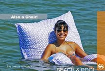 Pool Furniture / Fun and comfortable pool floats, pool accessories, and outdoor furniture.