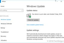 Disabling Automatic Updates in Windows Server 2016