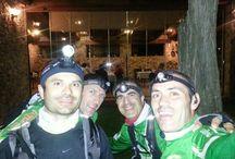 """El """"selfie de la IOtrailwalker"""" a CalaMaria de #Llagostera / Participants de la IOtrailwalker 100km Olot/Sant Feliu de Guíxols #IOTW"""