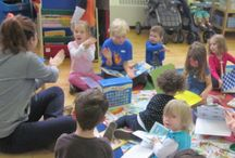 Childcare activities / Busy childcare days with bouncies, community awareness, beach days and more!