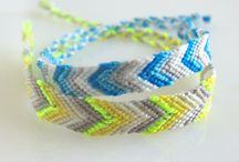 FLOSS, HEMP, MACRAME / Never gets OLD!! Such funtimes in the for the kids & self =) / by Sonia Ballinger