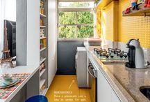Cozinha Colorida/Pequena