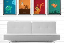Movie and Superhero Poster / Minimalist Art Poster