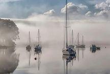 Hajók, Csónakok, Vitorlások