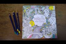 magical city colouring