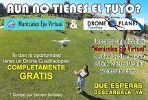 ¿QUIERES UN DRONE? • ¿AUN NO TIENES EL TUYO? / Manizales Eje Virtual & Drone Plantet Tecnology  •TE PREMIAN CON UN DRONE PARA LAS PRÓXIMAS VACACIONES  Siguenos en nuestras Fan Pages:  • VivirAplicaciones: http://on.fb.me/1nLc9Jw  • Drone Plantet Tecnology: http://on.fb.me/1Un8mfH  • Mundo Drone en Youtube: http://bit.ly/1ZZLHgv  • Descarga nuestra aplicación y conoce lo que tenemos para ti...  http://bit.ly/1uhJIkE
