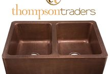 Thompson Traders Copper Sinks / Thompson Traders Copper Kitchen, Bar & Bathroom Sinks