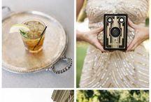 Art Deco/ Gatsby themed wedding