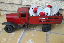 Red Truck Decor