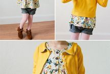 Tots girl outfit spring