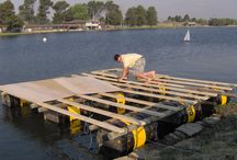 Barrel pontoon