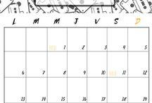 calendrier à imprimer