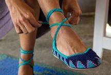 Chrochet shoes