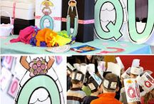 Alphabet - Letters O, P, & Q / by Kari Sharp
