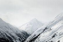 mountains & snow / by ωiℓd&scεηic