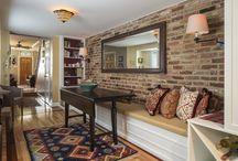 brick wall interiors
