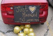 décoration 50e mariage