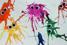 Výtvarná výchova - pinterest