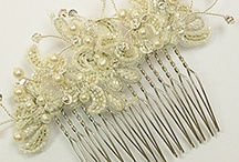Bridal Hair / Bridal accessory ideas for the hair from combs to pins, tiaras and more
