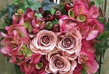 floral wreathes