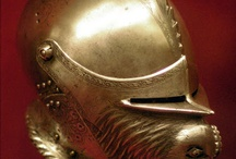 Armet helmets (Only historically accurate) / Early modern period (1492 – 1750) European helmets of type armet, also known as close helmet. Closely related to, and often confused with burgonet type helmet.