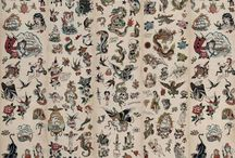 Luxury Tattoo Wallpaper / Perfect for your Tattoo Shops and Business and also ideal for home :)