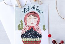 Holiday Cards / by Sarah Ehlinger / Very Sarie
