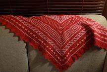 Knitting - my own / Alt her har jeg laget selv - everything here is handmade by me!!