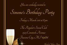 Mums 70th Birthday Invites / 70 birthday invitations