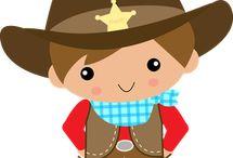 kovboy tema