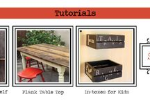 D.I.Y Tips for the Home  / Tutorials for around the home projects and repurposing furniture  / by Mica McAfee