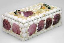 Seashell jewel box