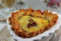 Tea with Quiche and Savories / by Reeniebeth N
