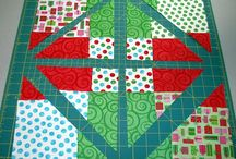 Disappearing Patches / Some ideas for Disappearing Four or Nine Patch Quilts