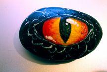 Rock Painting / DIY, crafts, rock painting, handmade