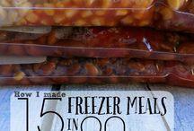 THM Crockpot Freezer meals..