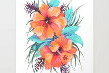 flower dress print