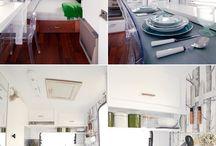Glamping! / Caravan interiors
