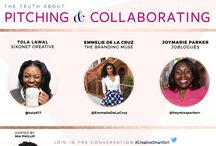 Creative Smart Girl Twitter Chat