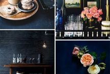 interior styling. indigo blues / by We Love This