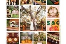 Whimsical and colorful rustic wedding at #BakersRanch