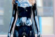Tigh Latex And Rubber Woman