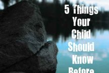Things I should know!