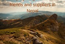 Nepal / Our suppliers and friends.
