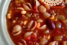 SOUPS / Yummy soups for the upcoming fall and winter seasons