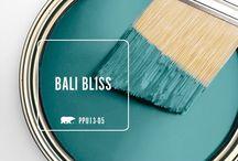 Bali bliss paint