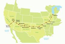Famous road trips across the world / Pictures and information about road trips and Aus and US roads /travel. And more!  Going on one is on my Living List #livinglist can be seen here: http://miscmum.com/living-list/